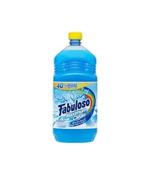FABULOSO® 56 OZ - MAX CLEAN FRESH - 6/CS (53100)
