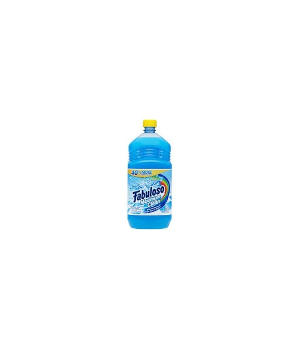 FABULOSO® 56 OZ - MAX CLEAN FRESH - 6/CS (53100)