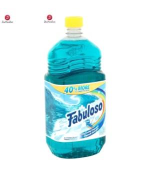 FABULOSO® 56 OZ - OCEAN PARADISE - 6/CS (53042)