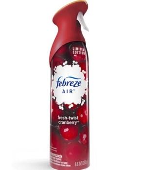 FEBREZE® AIR EFFECT 8.8 OZ - FRESH TWIST CRANBERRY - 6/CS