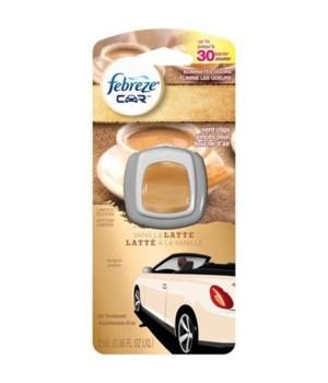 FEBREZE® CAR VENT 2ML (.07oz) - VANILLA LATTE - 8/CS