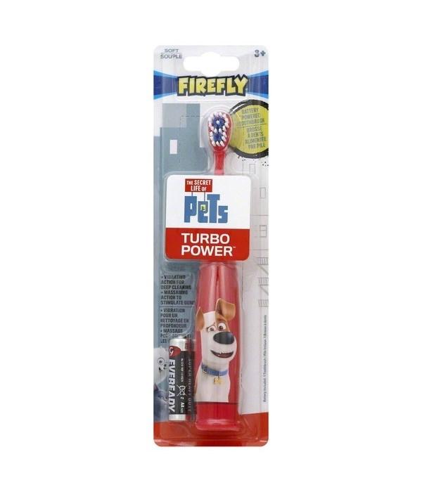 FIRE FLY� TOOTHBRUSH- SECRET LIFE OF PETS TURBO- 24/CS