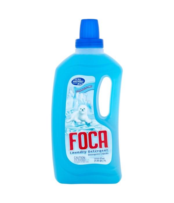 FOCA® DETERGENT LIQUID  33.8 OZ - 12/CS
