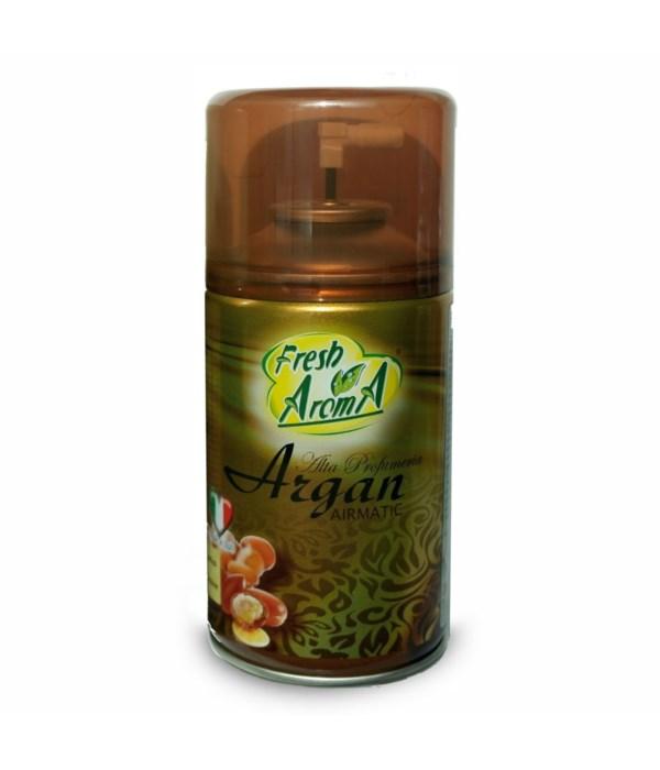 FRESH AROMA® AIR FRESHENER SPRAY 250ml- ARGAN- 12/CS