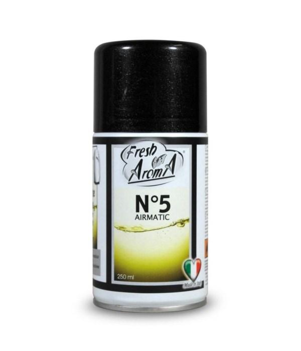 FRESH AROMA® AIR FRESHENER SPRAY 250ml- N.5 - 12/CS