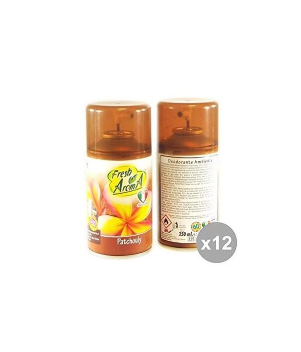 FRESH AROMA® AIR FRESHENER SPRAY 250ml- PATCHOULI - 12/CS