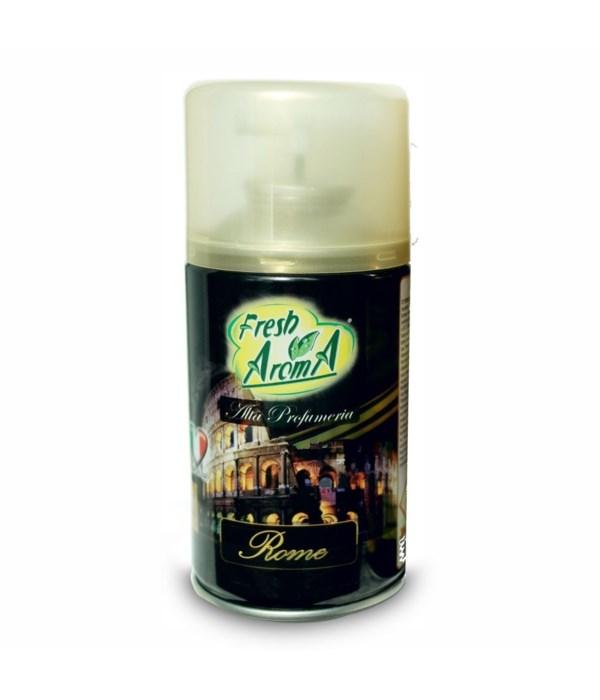 FRESH AROMA® AIR FRESHENER SPRAY 250ml- ROME - 12/CS