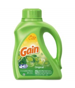 GAIN® LIQUID 50oz 32 LOADS- ORIGINAL -6/CS
