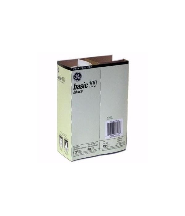 G.E ® LIGHT BULB 100 W - 12'S  4/CS (41034)