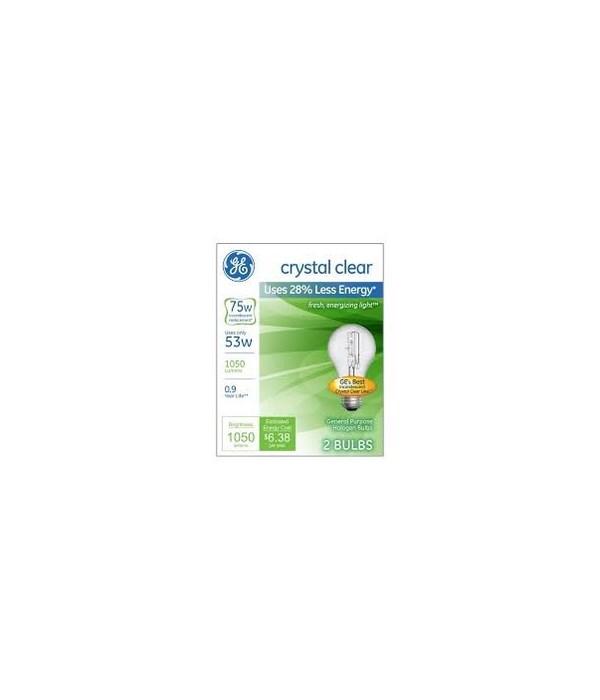 G.E ® LIGHT BULBS 75W - 12'S  4/CS (41030)