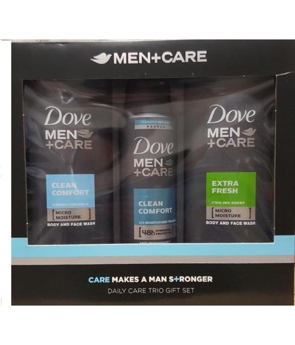 DOVE MEN + CARE GIFT SET - 3CT DAILY CARE