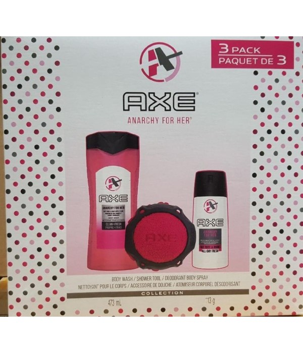 AXE GIFT SET - 3CT ANARCHY FOR HER