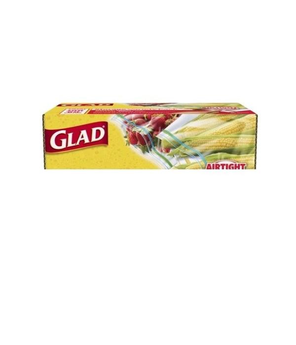 GLAD® FOOD STORAGE ZIPPER SNACK- 12/80CT