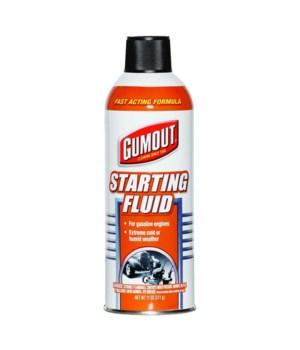GUMOUT® STARTER FLUID 11oz - 12/CS