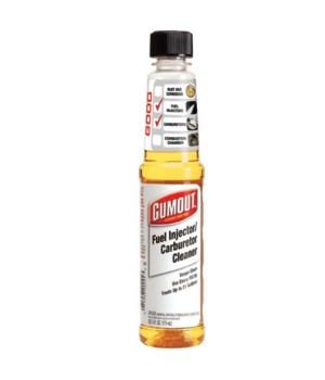 GUMOUT® 2X FUEL INJECTOR CLEANER 6oz- CARBURETOR CLEANER - 12/CS