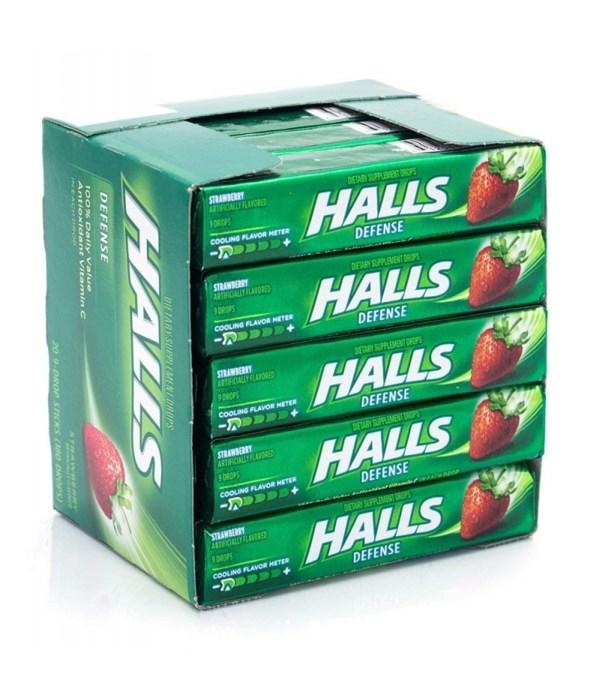 HALLS 20's DEFENSE STRAWBERRY