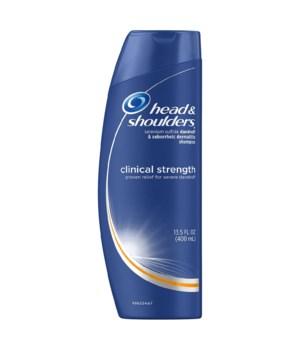 HEAD & SHOULDER® SHAMPOO 13.5 OZ - CLINICAL - 6/CS