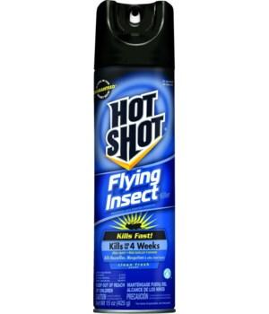 HOT SHOT® 15 OZ FLYING INSECT KILLER- 12/CS (96310)