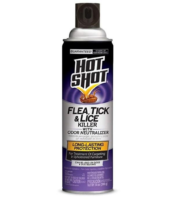 HOT SHOT® 14 OZ FLEA KILLER - 6/CS (2118)