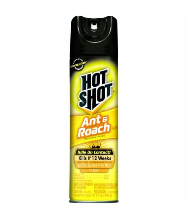 HOT SHOT® 17.5 OZ  ROACH & ANT - LEMON - 12/CS (26302)