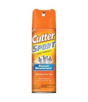 HOT SHOT® CUTTER 6oz SPORT SWEAT RES 15% DEET- 12/CS (96253)