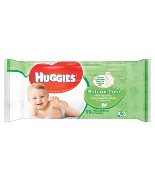 HUGGIES® WIPES NATURAL 56'S - 10/CS