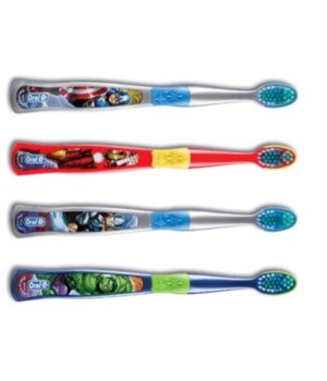 IRON MAN® TOOTH BRUSH ZIGGLY- 48/CS