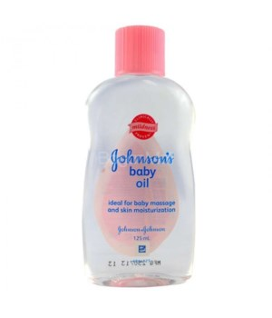 J &J� BABY OIL 125 ML - REGULAR - 12/UNIT
