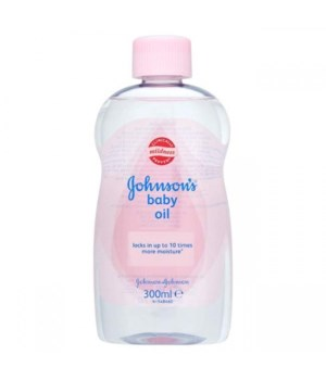 J &J� BABY OIL 300 ML - REG- 24CS