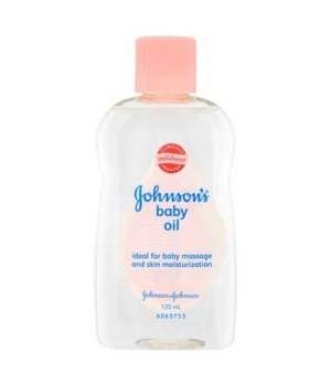 J &J® BABY OIL 300 ML- CLASSICO- REGULAR-  12/CS