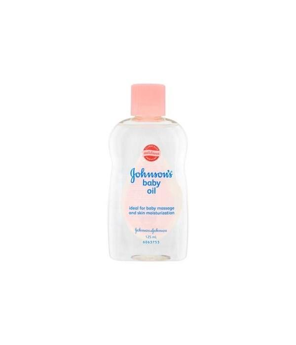 J &J® BABY OIL 300 ML- CLASSICO- REGULAR-  12/CS