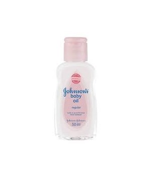 J &J® BABY OIL 50 ML - REGULAR - 12/UNIT