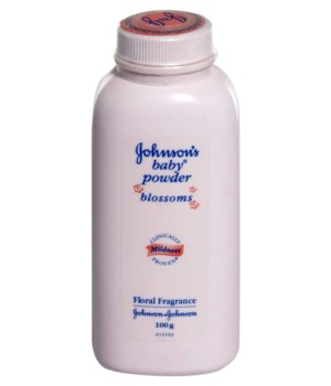 J &J® BABY POWDER 100 GR - PINK BLOSSOM - 12/UNIT (101514)