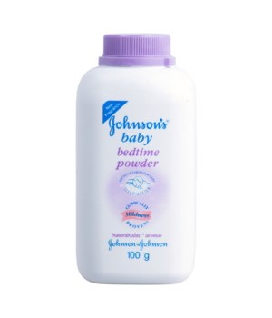 J &J® BABY POWDER 100gr - PURPLE BEDTIME- 12/UNIT ( 1022818)