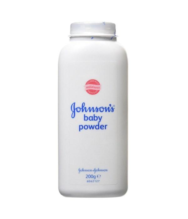 J &J® BABY POWDER 200gr - REGULAR -12/UNIT (101422)