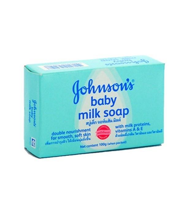 J &J® BABY SOAP 100gr - MILK- 96/CS