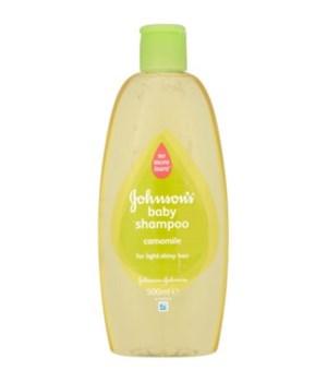 J &J® BABY SHAMPOO 300ml- CHAMOMILE - 24/CS