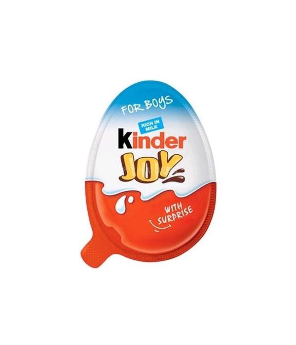 KINDER JOY EGGS BOYS 144CT