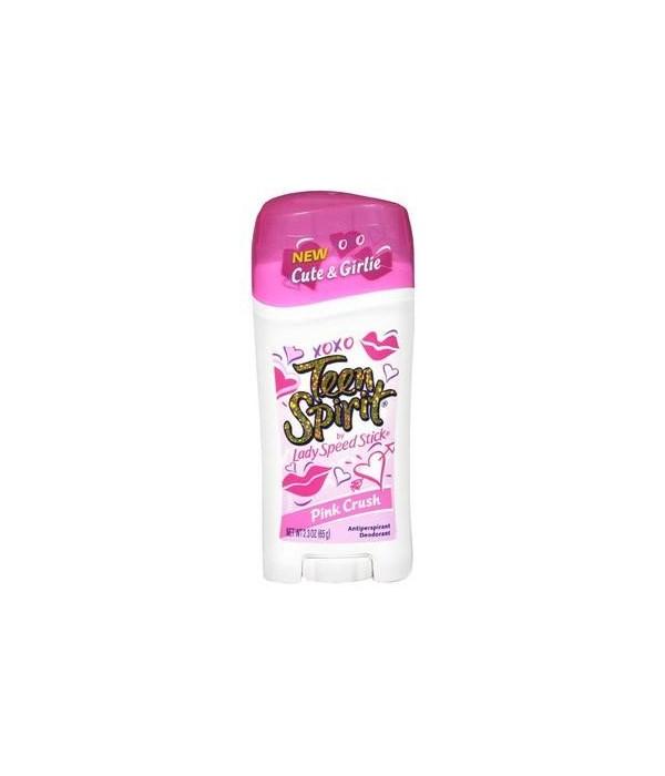 LADY SPEED® STICK 1.4oz - PINK CRUSH TEEN-12/CS (96409-8)