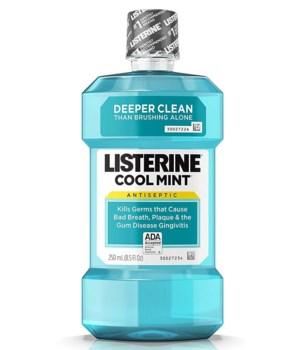 LISTERINE® 250ml - COOL MINT - 12/UNIT