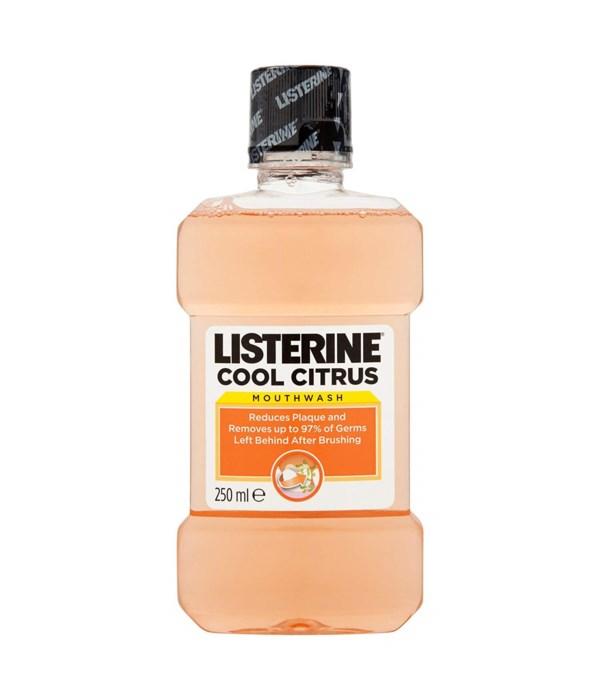LISTERINE® 250ml - COOL CITRUS - 12/UNIT