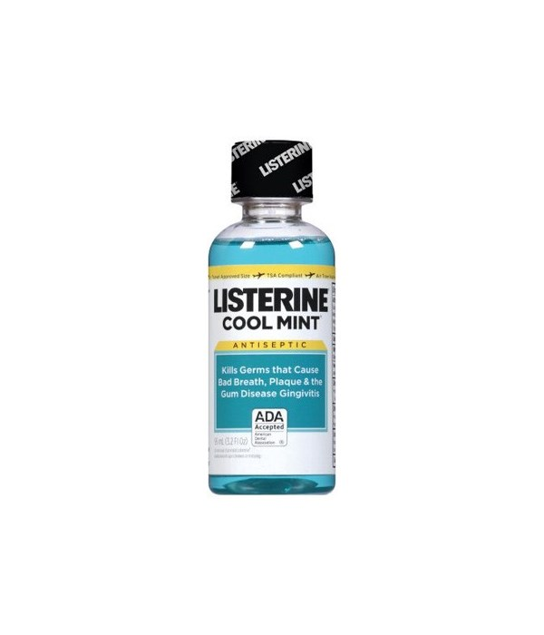 LISTERINE® 3.2oz - COOL MINT - 12/UNIT