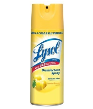 LYSOL® SPRAY  350gr - LEMON -  12/CS