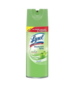 LYSOL® SPRAY 350gr - GREEN APPLE - 12/CS