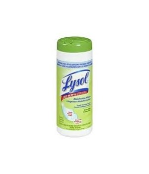 LYSOL® DISINFECTING WIPES 35CT - GREEN APPLE