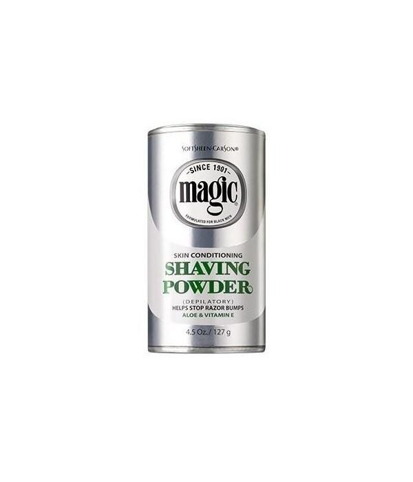 MAGIC® SHAVE 4.5oz - PLATNUM - 6/UNIT (7279000012)
