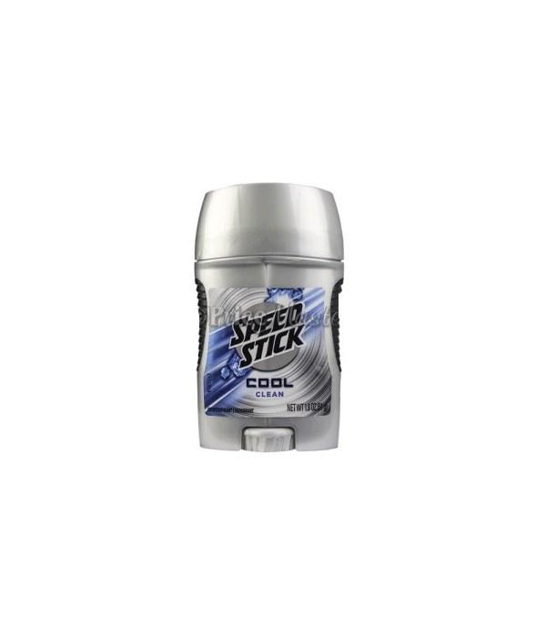 MENEN® SPEED STICK 1.8oz- COOL CLEAN- 12/CS (94025)