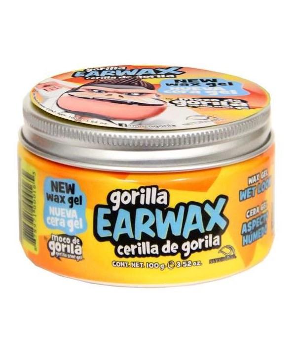 MOCO DE GORILLA® EARWAX 3.52oz (100gr)- WAX GEL - 24/CS