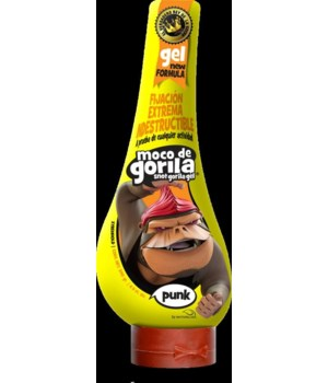 MOCO DE GORILA® HAIR GEL 11.99 OZ - YELLOW (PUNK)- 12/CS