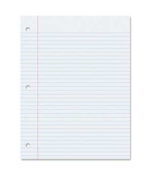 NOTEBOOK FILLER PAPER 200 SHEET